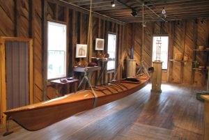 Hyattstown Mill boat