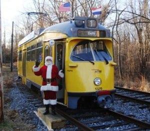 trolley-santa
